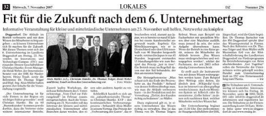Unternehmertag in Deggendorf